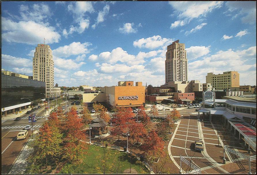 View of Downtown Battle Creek Michigan